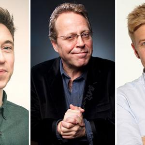 Jake Lambert, Mike Wilmot & Rob Beckett