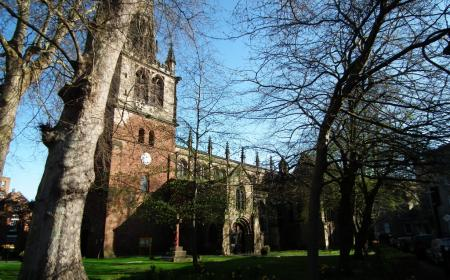 St Mary's Church Shrewsbury